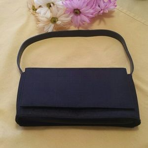 Handbags - Black clutch with strap